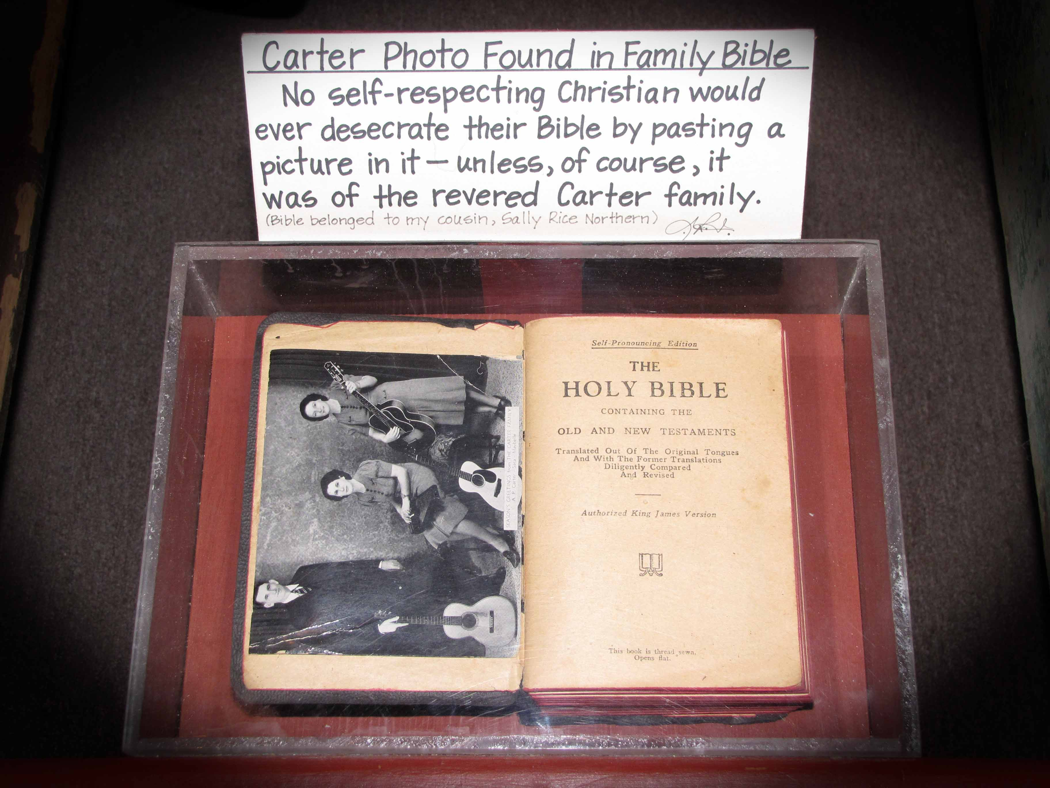 Carter Family Bible