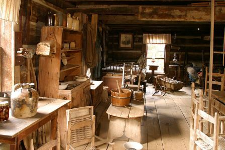 General Bunch House Interior
