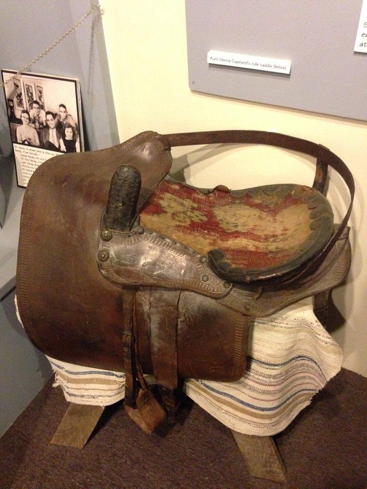 Hennie Copeland's Side Saddle